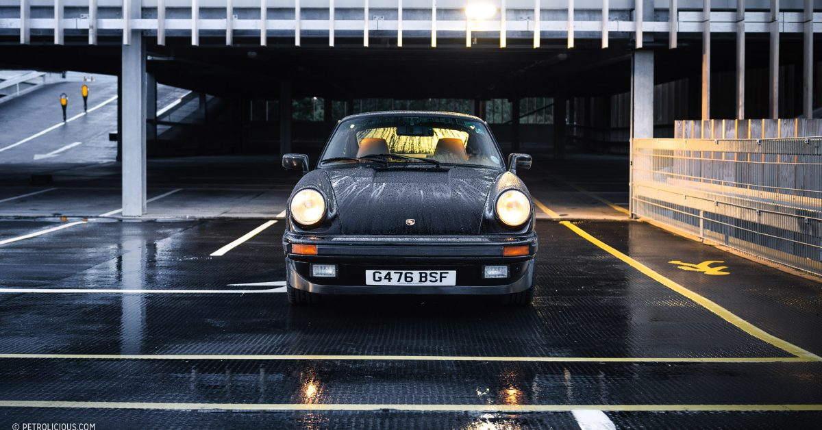 Even In English Rain, This Porsche 911 Carrera 3.2 Provides Its Owner With Perpetual Summertime