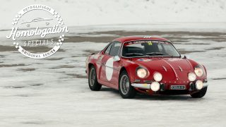 1972 Renault-Alpine A110 1600S: Fetching, Ferocious, French