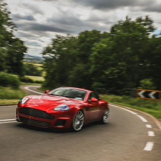 This Is What It's Like To Drive The Callum Aston Martin Vanquish