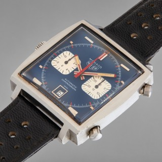 A Heuer Monaco Worn By Steve McQueen During 'Le Mans' Is Going To Auction On December 12