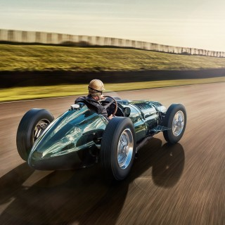 BRM Is Building Three Continuation Models Of Its Supercharged, V16-powered Type 15 Grand Prix Car
