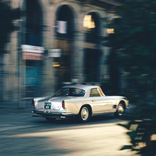 Exploring Barcelona's El Born Neighborhood In A Reborn Maserati 3500 GT