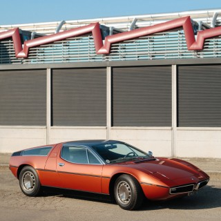 This 1973 Maserati Bora 4700 Is A Beautiful Bronze Sculpture
