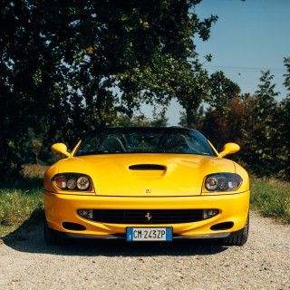 The Ferrari 550 Barchetta Pininfarina Is A Modern Classic In The Truest Sense