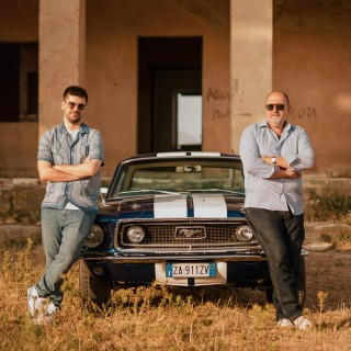A Father And Son, An Imported 1968 Ford Mustang Coupe, And A Sicilian Ghost Town