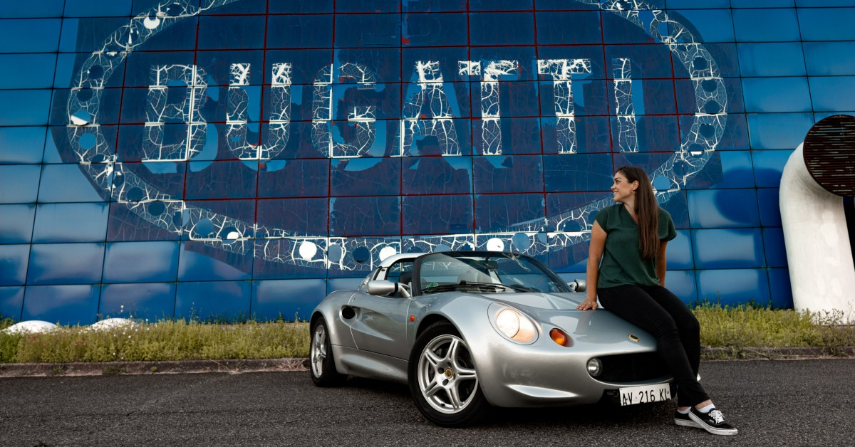 photo of The Lotus Elise Was Named After Her, And She's Owned One Since She Was A Toddler image