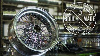 Soul Made: Ruote Borrani Wire Wheels