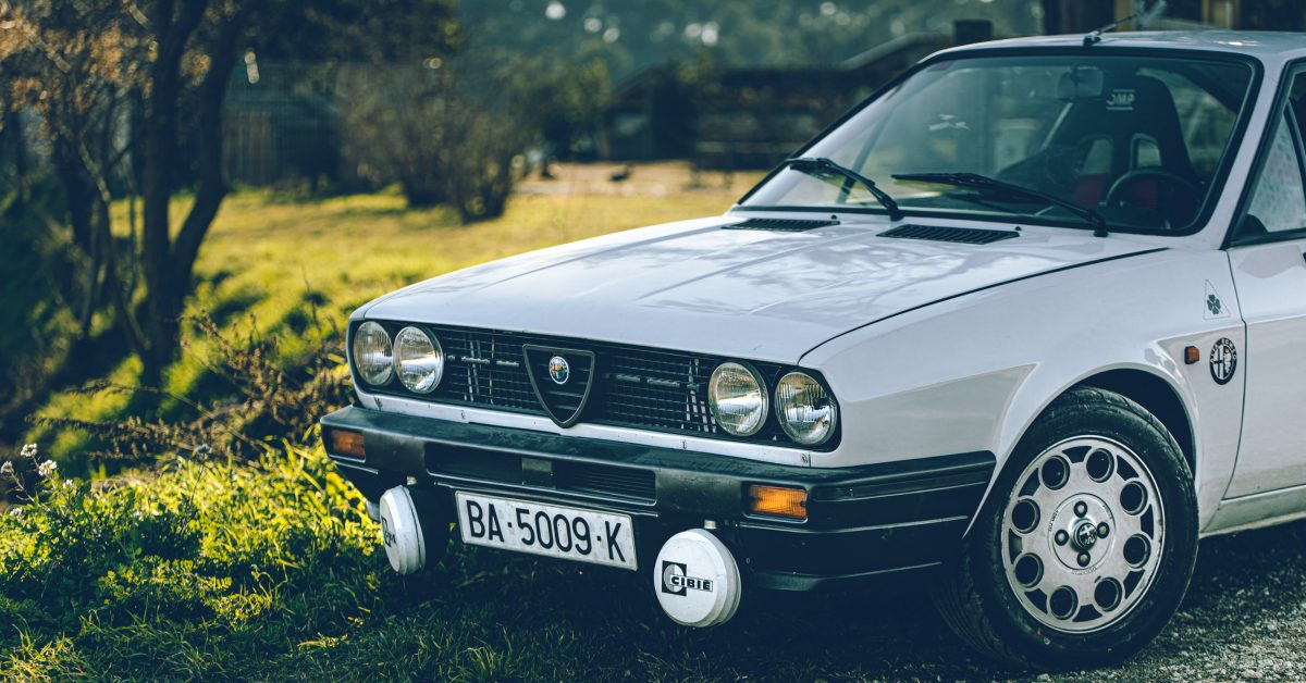 Playing On Catalonia's Dusty Back Roads In A Rally-Prepped Alfa Romeo Sprint