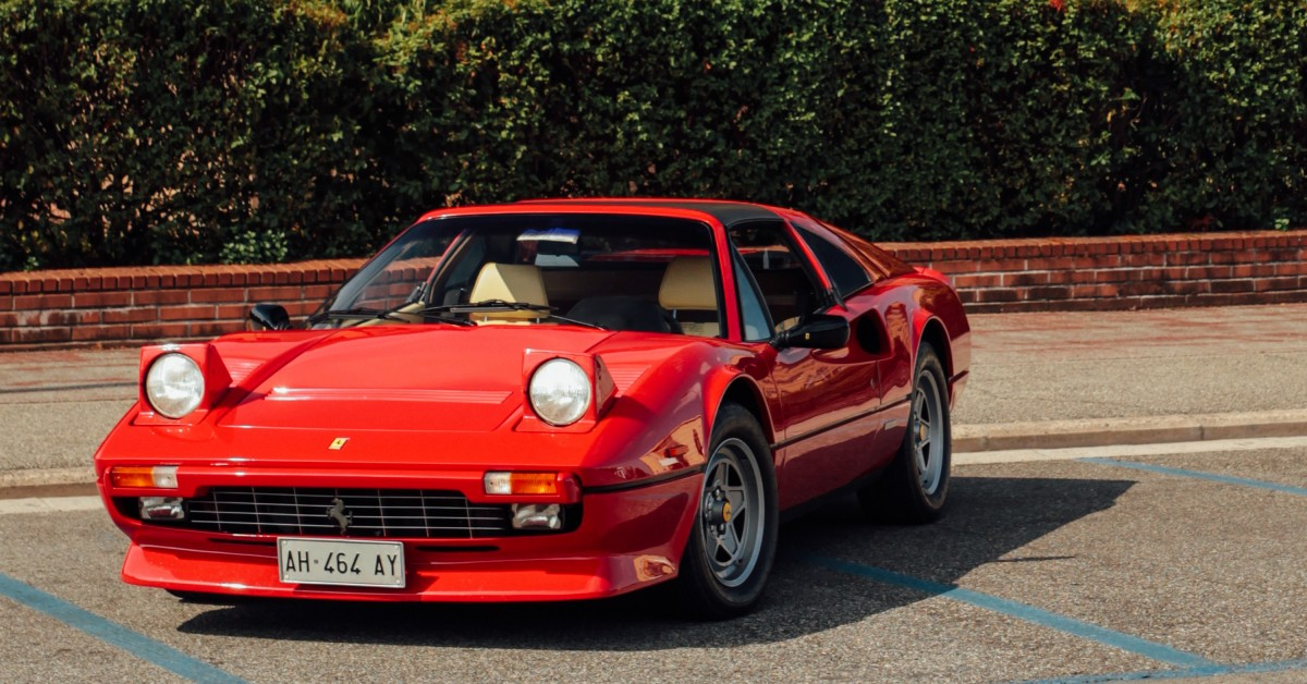Keeping The 1980s Alive And Well In With A Ferrari 308 GTS Quattrovalvole