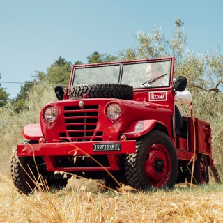 Meet The Alfa Romeo 1900 M 'Matta,' A Mix Of Military Utility And Italian Mechanical Excellence