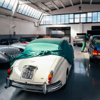 Visiting The Restoration Shop That Brings The Brits Back To Life In Italy, Baroni Legend