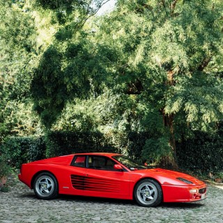 Spending An Afternoon With The Last Flat-Twelve Ferrari, The F512 M