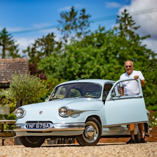 Pulled From A Barn And Carefully Restored, This 1963 Panhard PL 17 Is Living Its Second Life In The UK