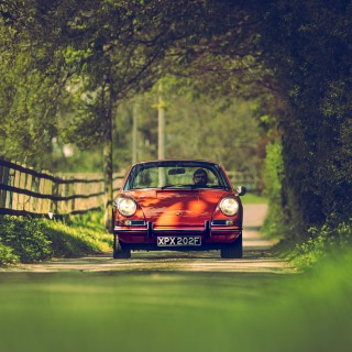 Finding The Stylish Side Of Safety Regulations With A Soft-Window Porsche 912 Targa