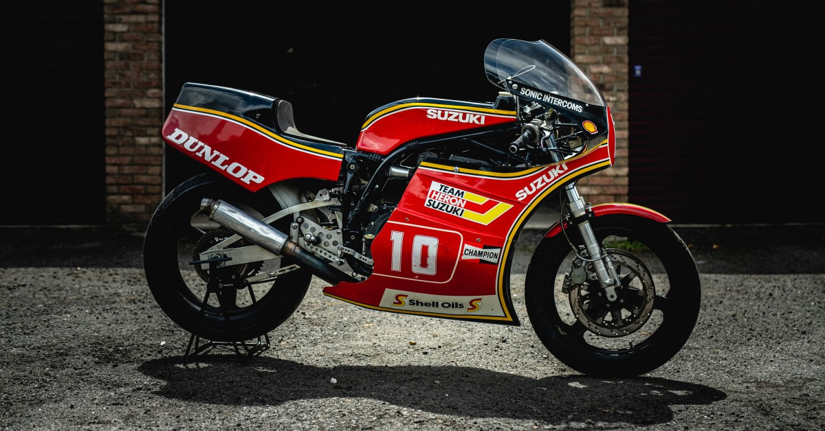 photo of Spending An Afternoon With Seven-Time Isle Of Man TT Winner Mick Grant And His Suzuki XR69 image