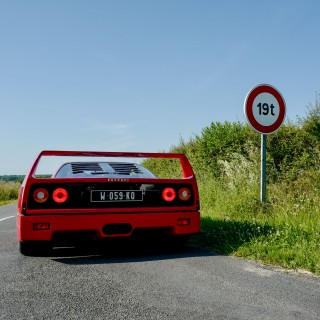 Spending A Week On Circuits And Empty French B-Roads With The Collection Anna-Lisa Ferrari F40