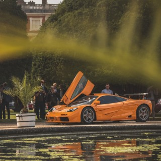 GALLERY: Peeking Into The Future Of Concours At A Royal Palace In England