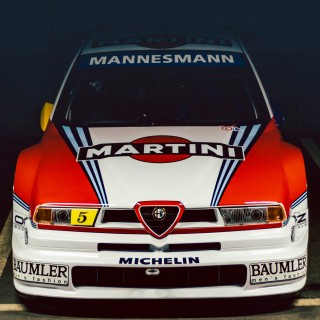 Italy's Greatest Touring Car: Experiencing The Alfa Romeo 155 V6 TI DTM High In The Swiss Alps