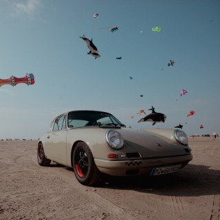 Air-Cooled Porsches Take To The Sand And The Seaside At Petro-Surf On The German Island Of Sylt